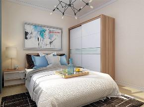 简约 现代 二居 白领 小资 卧室图片来自阳光放扉er在力天装饰-水岸花园-100㎡-现代1的分享