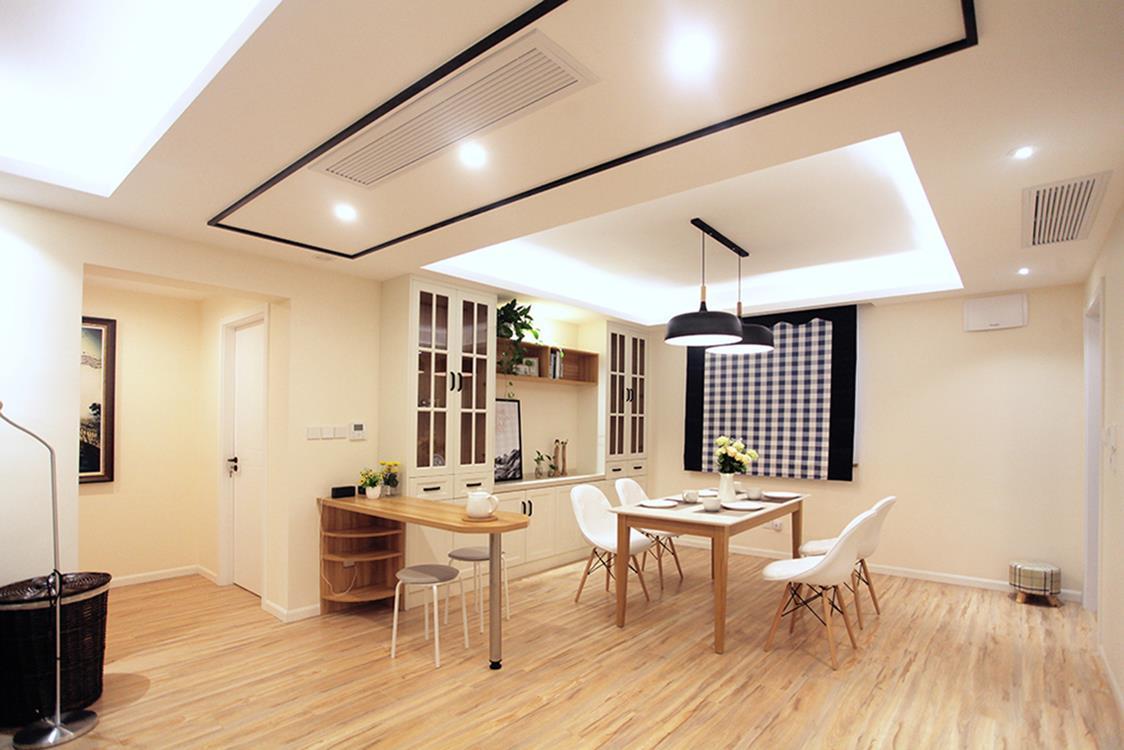 三居 简约 餐厅图片来自金煌装饰有限公司在原木色现代简约风格的分享