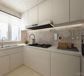 美式 简美 二居 收纳 小资 厨房图片来自阳光力天装饰在力天装饰- 北宁湾-88㎡-美式的分享