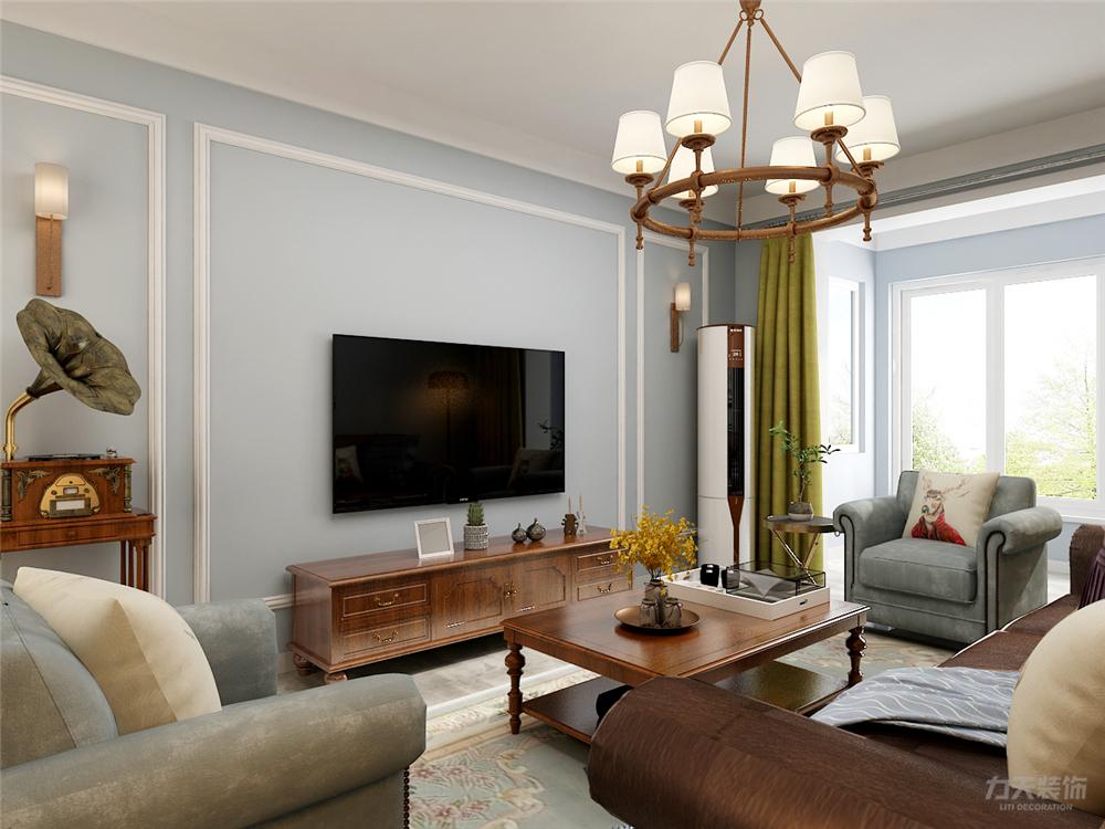 北欧 欧式 二居 白领 小资 客厅图片来自阳光放扉er在力天装饰-欧铂城图片