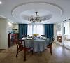 淡淡的雅致 130平美式简约3居室
