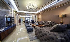 新古典 现代 四居室 奢华 高贵 客厅图片来自广州名雕装饰在中海千灯湖一号实景:简约而高贵的分享