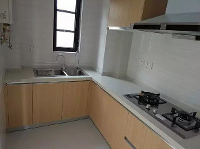 欧式 三居 北欧 厨房图片来自家装e站乐山站在110北欧风格完工实景图的分享