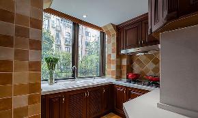 美式 混搭 三居 小资 厨房图片来自家装大管家在安静的生活 180平美式淡雅3居室的分享