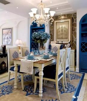 地中海 餐厅图片来自家装e站乐山站在地中海风格实景的分享