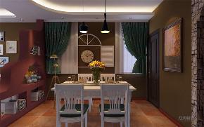地中海 二居 白领 收纳 旧房改造 餐厅图片来自阳光力天装饰在力天装饰时光里93㎡-地中海风格的分享