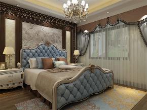 欧式 简约 三居 白领 收纳 80后 卧室图片来自阳光放扉er在力天装饰-莱茵翠景95㎡欧式风格的分享