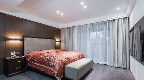 卧室图片来自家装大管家在190平现代美式3居 梦想中的模样的分享