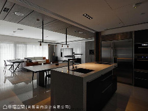 大户型 三居 厨房图片来自幸福空间在人文荟萃 172平都会时尚宅的分享