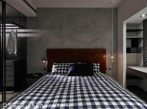 大户型 三居 卧室图片来自幸福空间在人文荟萃 172平都会时尚宅的分享