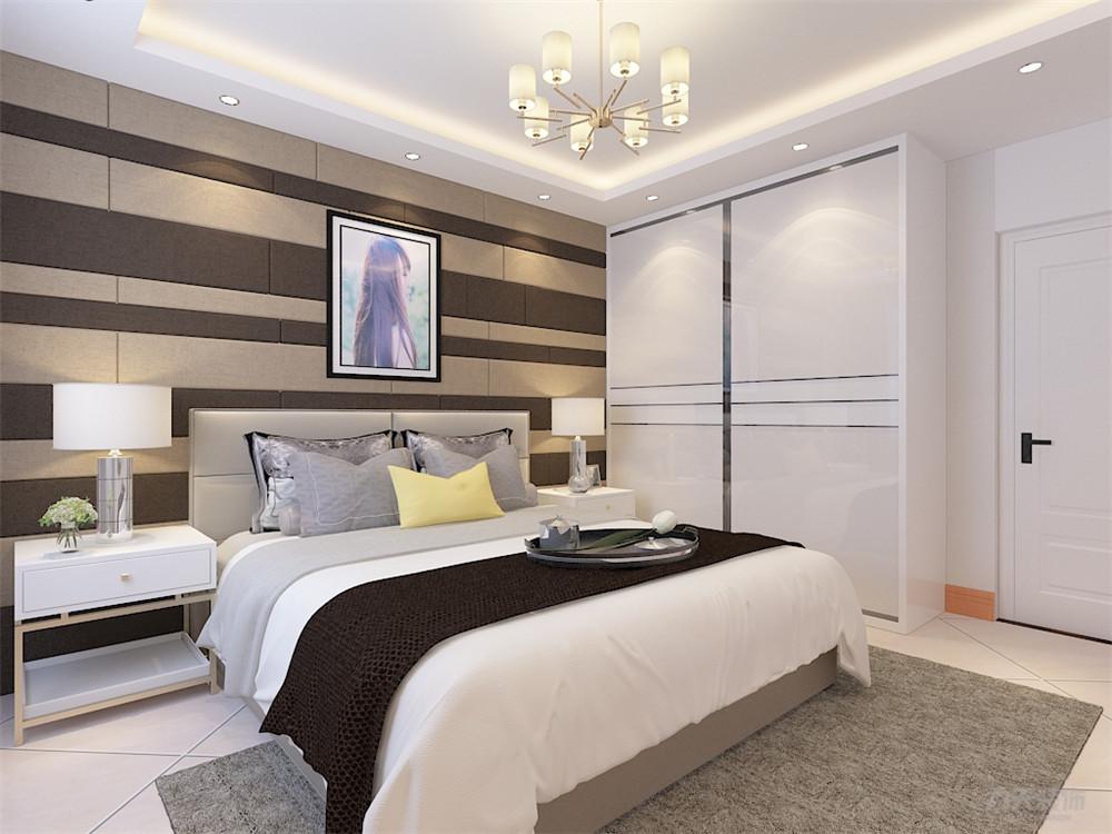 简约 二居 收纳 旧房改造 小资 卧室图片来自阳光力天装饰在力天装饰奥莱城109㎡现代简约的分享