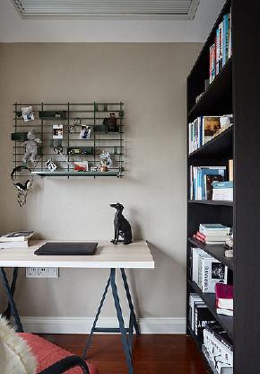 书房图片来自家装大管家在简单优雅 100平现代美式混搭3居的分享