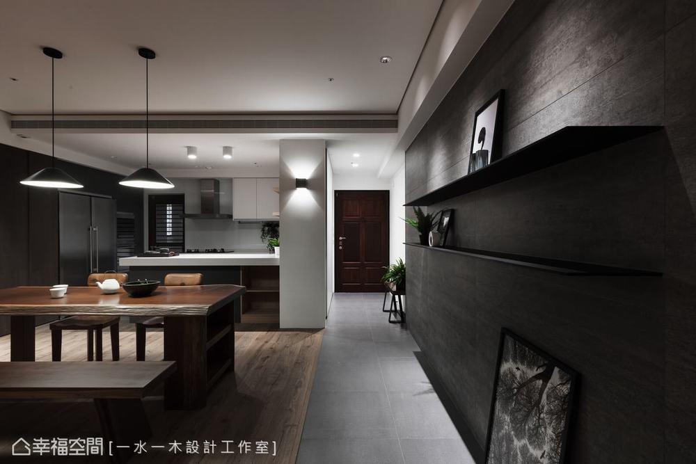 禅风 三居 餐厅图片来自幸福空间在沉稳洗炼 132平现代简约禅风雅居的分享