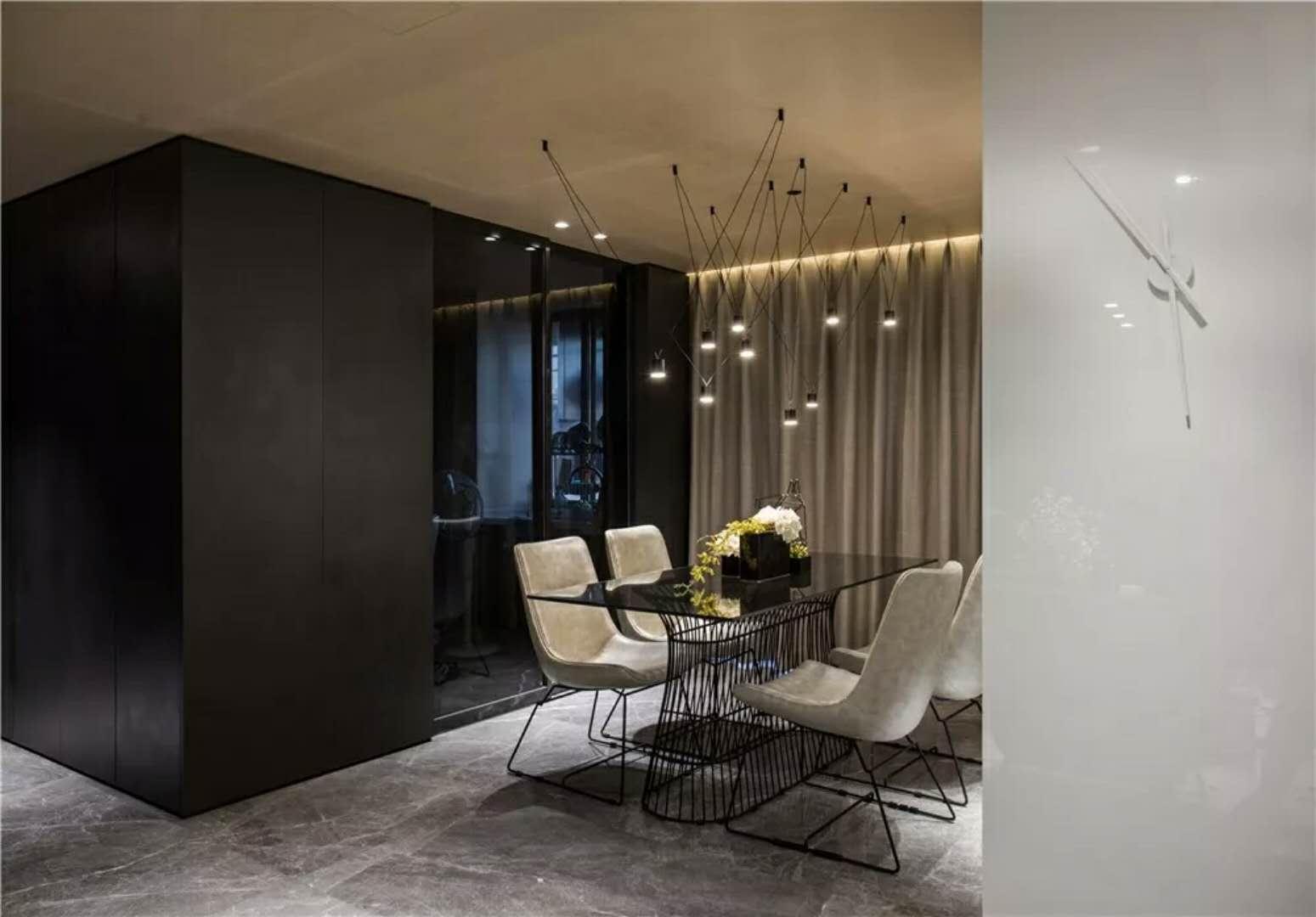 简约二居别墅80后别墅小资来自餐厅设计师杨洋在现代简约-色彩黄昏a别墅图片图片
