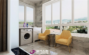 简约 欧式 阳台图片来自济南城市人家装修公司-在世茂天城装修现代简约风格的分享