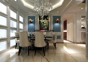 法兰香颂 新古典 大户型 餐厅图片来自百家设计小刘在法兰香颂240平新古典风格的分享