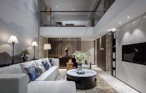 简约 中式 新中式 客厅图片来自别墅设计师杨洋在简洁舒适高雅之新中式风格的分享
