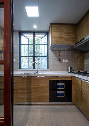 厨房图片来自家装大管家在温馨而恬淡 106平新中式风情3居的分享