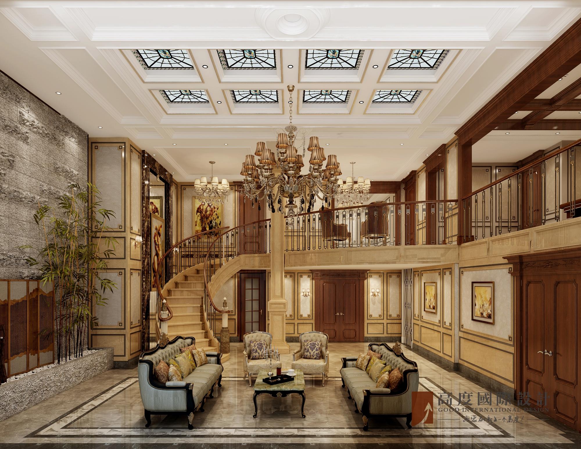 欧式 别墅 大户型 跃层 复式 高帅富 其他图片来自高度国际姚吉智在金图片