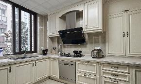 厨房图片来自家装大管家在倍感温暖 140平美式混搭雅致3居的分享
