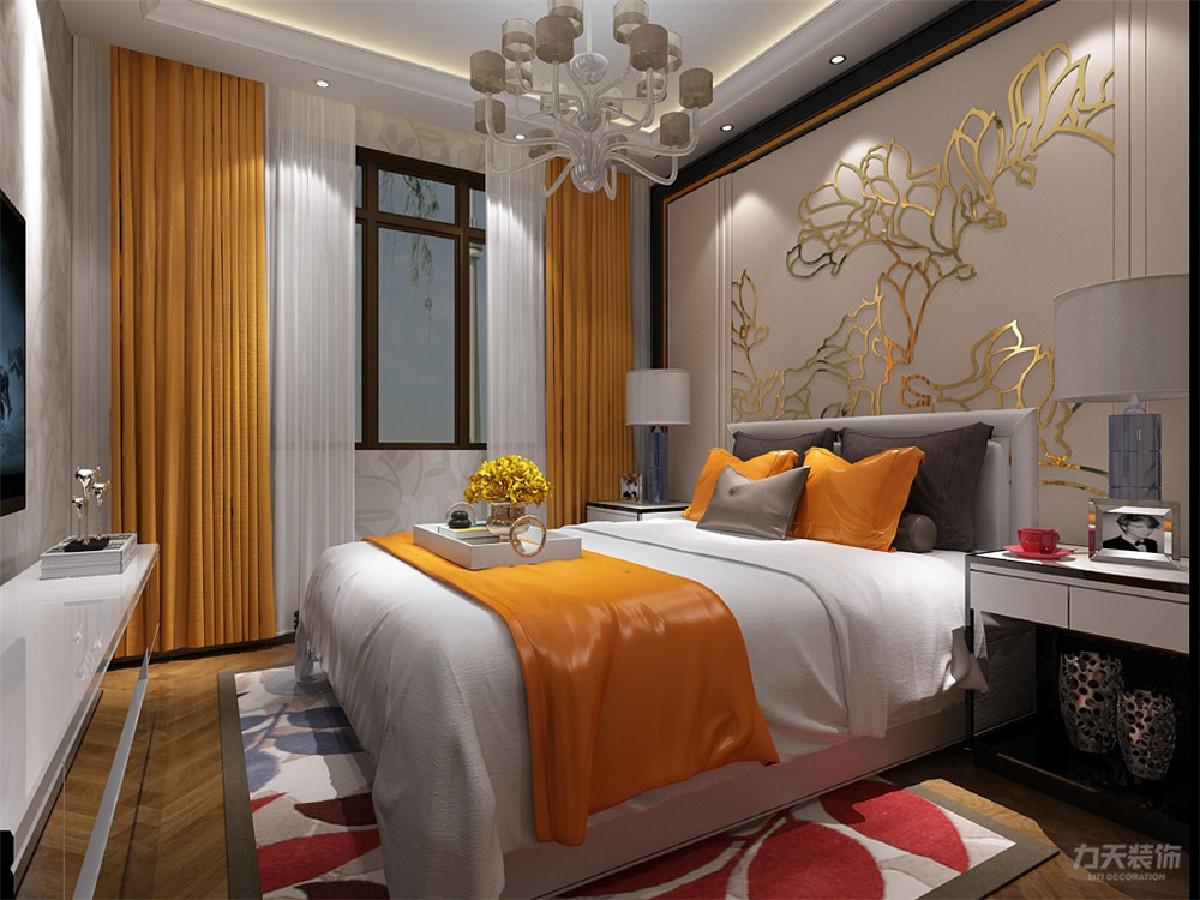 柔和的色调和简洁的家具布置,体现出整体空间舒爽、干净、整洁,显得不混乱。