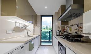 厨房图片来自家装大管家在春暖花开 180平简约美式混搭3居的分享
