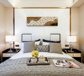 现代 四居 三居 大户型 跃层 复式 小资 80后 卧室图片来自高度国际姚吉智在167平米后现代感受多变的生活的分享