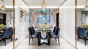 现代 四居 三居 大户型 跃层 复式 小资 80后 餐厅图片来自高度国际姚吉智在167平米后现代感受多变的生活的分享
