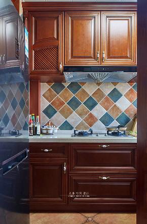 三居 80后 小资 厨房图片来自人本空间设计在秋意浓 美式【人本空间设计】的分享