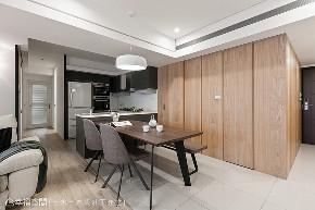 三居 现代 厨房图片来自幸福空间在归于本质 83平柔美光感舒心宅的分享