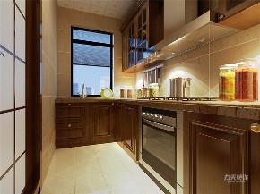 厨房图片来自阳光放扉er在力天装饰 金隅悦城 91㎡ 新中式的分享