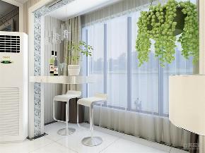 阳台图片来自阳光放扉er在力天装饰 阳光家园 95㎡ 现代的分享