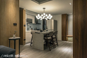混搭 三居 厨房图片来自幸福空间在83平混搭禅风宅的分享
