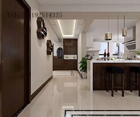 四居室 晓港名城 新中式 厨房图片来自实创装饰小彩在晓港名城新中式装修设计的分享