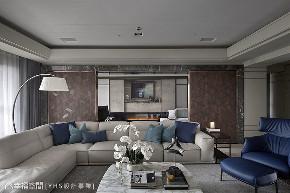 三居 现代 大户型 客厅图片来自幸福空间在醇厚迭景 环抱488平大器风范的分享