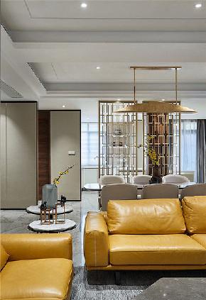 客厅图片来自家装大管家在素雅时尚 140平清爽现代混搭3居的分享