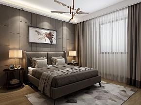 简约 混搭 白领 收纳 小资 现代 灰色 卧室图片来自圣奇凯尚室内设计工作室在圣奇凯尚装饰-后现代风格的分享