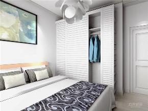 卧室图片来自阳光放扉er在力天装饰 名士华庭 90㎡ 现代的分享