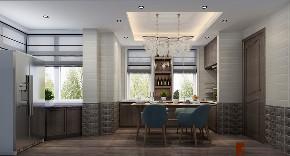 简约 复式 跃层 大户型 别墅 80后 小资 厨房图片来自高度国际姚吉智在万城华府334平米复式当代简约的分享