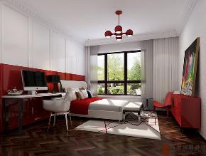 简约 复式 跃层 大户型 别墅 80后 小资 卧室图片来自高度国际姚吉智在万城华府334平米复式当代简约的分享