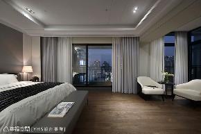 三居 现代 大户型 卧室图片来自幸福空间在醇厚迭景 环抱488平大器风范的分享