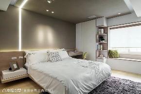 现代 四居 旧房改造 卧室图片来自幸福空间在由设计起始 构筑99平健康新人生的分享