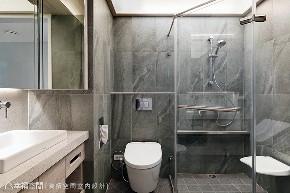 现代 四居 旧房改造 卫生间图片来自幸福空间在由设计起始 构筑99平健康新人生的分享