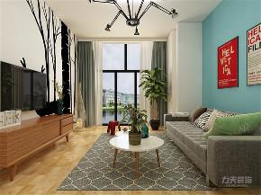 客厅图片来自阳光力天装饰在力天装饰 金桥公园 93㎡ 北欧的分享