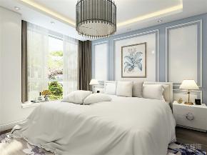 卧室图片来自阳光放扉er在力天装饰 奥莱城 109㎡ 欧式的分享