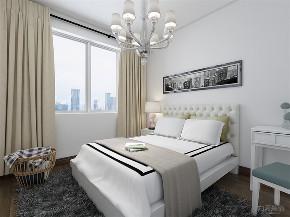 卧室图片来自阳光力天装饰在力天装饰 朝园里 60㎡ 现代简约的分享