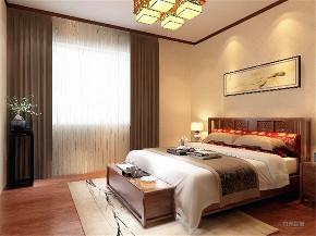 卧室图片来自阳光放扉er在力天装饰 天鹅湖 261㎡ 新中式的分享