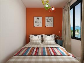 卧室图片来自阳光力天装饰在力天装饰 金桥公园 93㎡ 北欧的分享