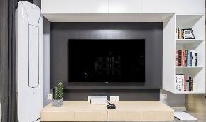 客厅图片来自家装大管家在140平现代北欧3居 拒绝单调冷淡的分享