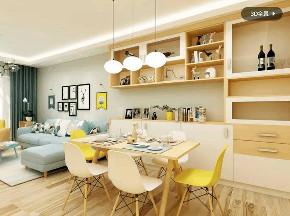 简约 欧式 餐厅图片来自优家馆装饰_小余在130平方-北欧风格尽显自然优雅的分享